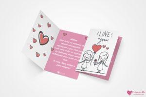 cartão dia dos namorados lésbica